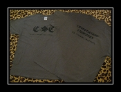 MENS-CHOPPERSHOP CHOPPERS T-SHIRT (grey w/ black lettering)